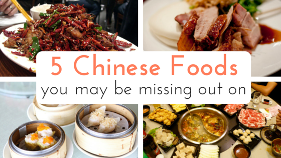 5 Chinese Foods - Feature Pic