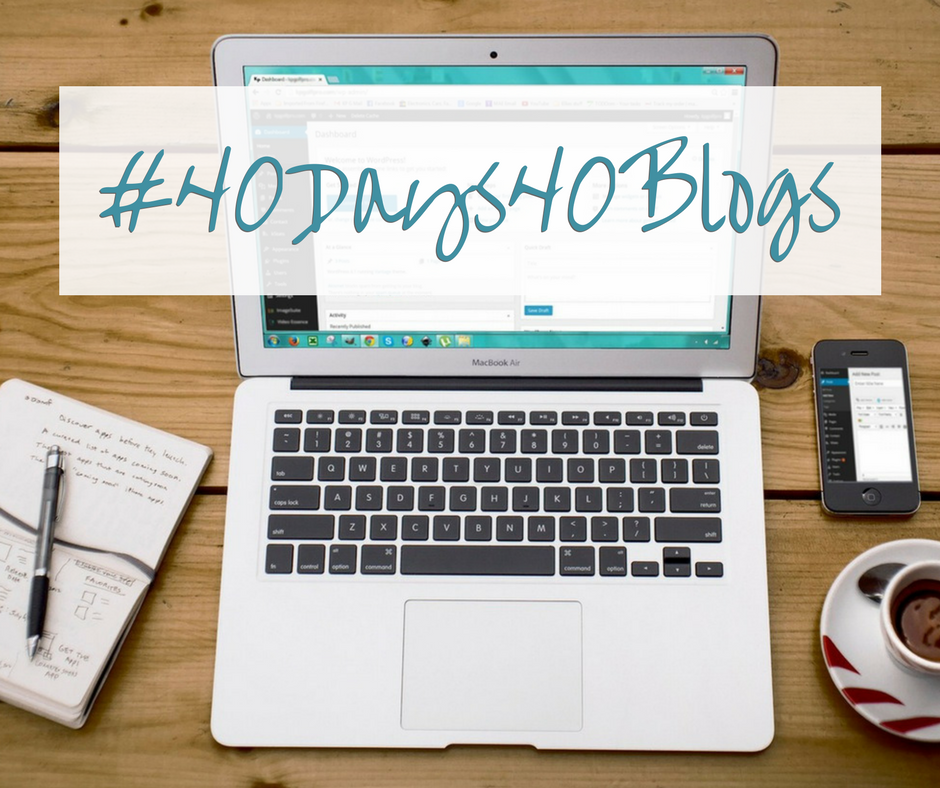 #40Days40Blogs