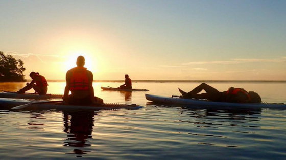 Sunrise Standup Paddleboarding on Lake Bacalar - The Best Things to do in Bacalar Lagoon, Mexico